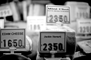 Queen-Vic-Market-Cheese-Black-and-white