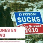 Elecciones presidenciales en negativo