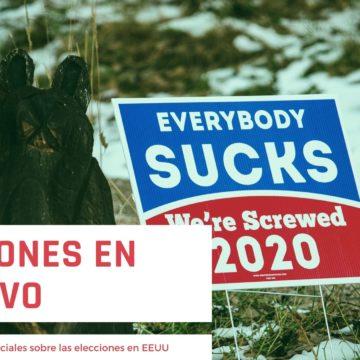 Redes sociales: Elecciones en EEUU en negativo